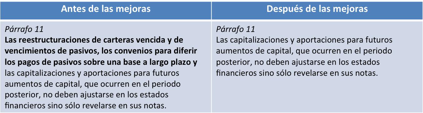 NIF B13 2 párrafo 11